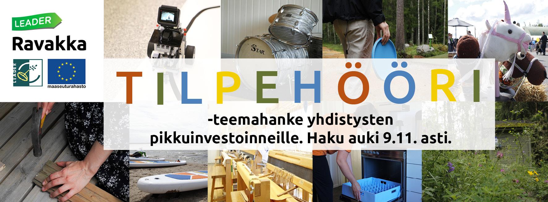 Mainos Tilpehööri-teemahankkeesta