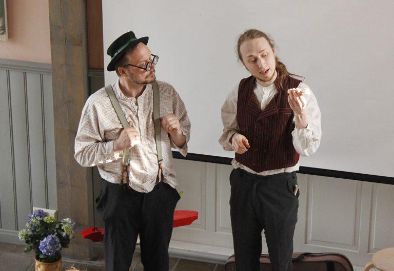 FiktioFakta ja Maestro Markus opettavat kansanmusiikista